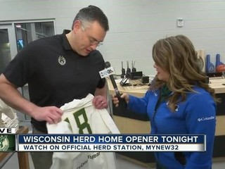 The Wisconsin Herd welcomes fans for home opener