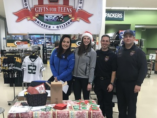 Gifts for Teens drive provides holiday joy