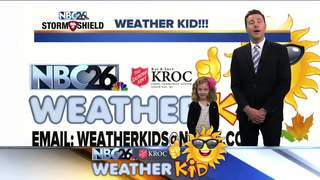 Meet Lucy, our NBC26 Weather Kid of the Week