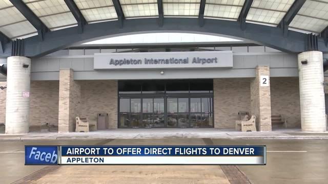 Appleton International Airport to offer nonstop flights to Denver