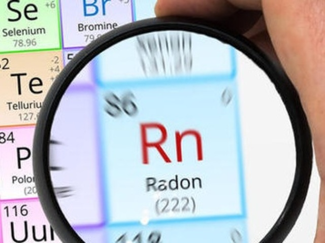 Radon test kits available