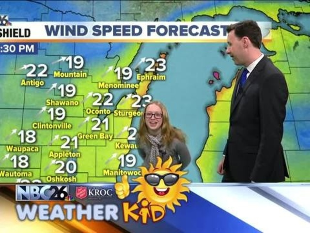 Meet Emily Our Nbc26 Weather Kid Of The Week Nbc26 Wgba