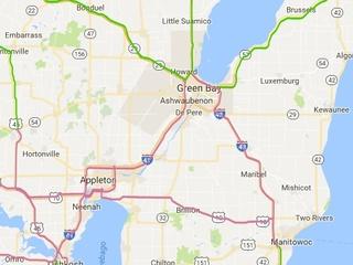 Slippery roads across Northeast Wisconsin