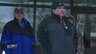 Menominee tribe voices opposition to mine