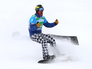 Small Towns: Olympic snowboarder