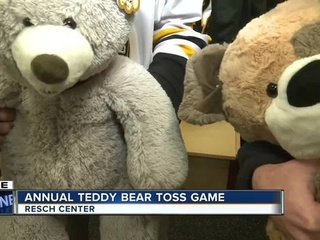 Gamblers give back with annual Teddy Bear Toss