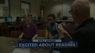 Volunteer adopters at Jefferson Elementary