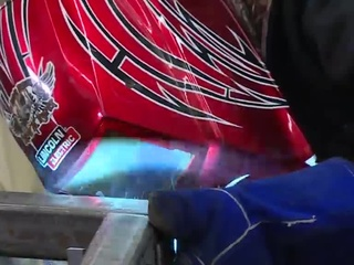 Metalworking students pave their way