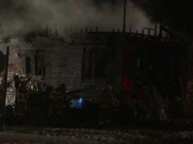 Firefighters battle overnight house fire in Covington Co
