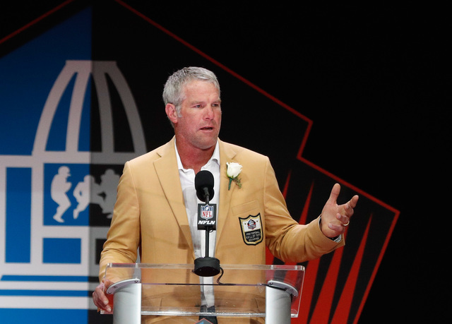 Favre says he may have had