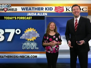 Meet Jaida, our NBC26 Weather Kid of the Week