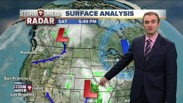 First 60 in 140 Days Forecast on Monday