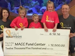 Miles for Madyson race supports cancer research