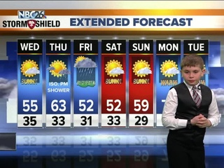 Meet John, our NBC26 Weather Kid of the Week
