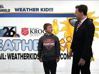 Meet Derek, our NBC26 Weather Kid of the Week