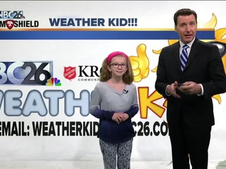 Meet Olivia, our NBC26 Weather Kid of the Week