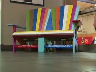 Friendship benches help students in Fond du Lac