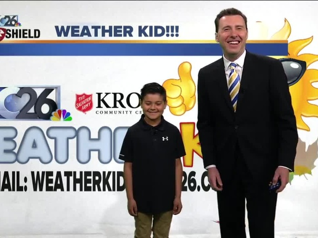 Meet Tristan, our NBC26 Weather Kid of the Week