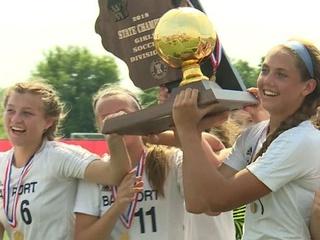 Bay Port wins girls soccer state title