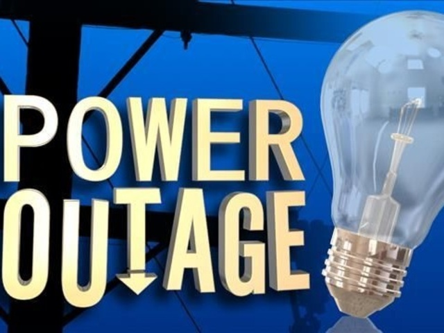 Power outages in several counties