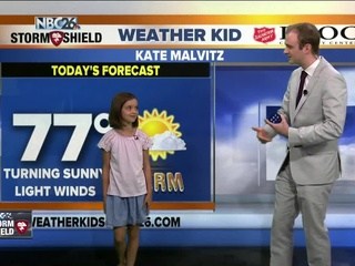 Meet Kate, our NBC26 Weather Kid of the Week