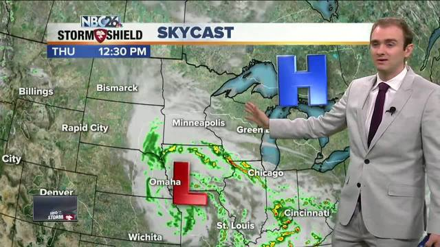 NBC26 Storm Shield weather forecast NBC26 WGBATV Green Bay WI