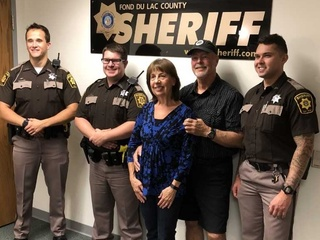 Fond du Lac County Deputies save man's life