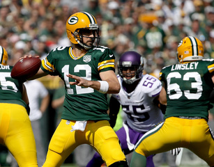 Packers looking for second win this Sunday