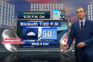 A look at the weather for gameday