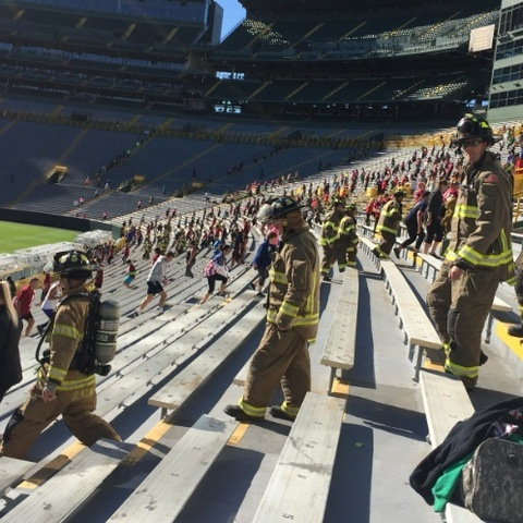Thousands climb in memory of firefighters killed