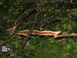 Strong winds damage buildings in Manitowoc Co.