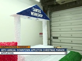 Organizers ready for Appleton Christmas Parade
