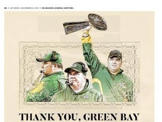 McCarthy thanks Green Bay, fans in newspaper ad